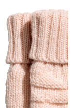 Fleece-lined mittens - Light pink - Kids | H&M CN 2