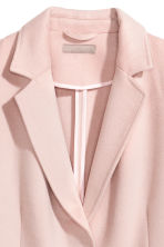 H&M+ Felted coat - Light pink - Ladies | H&M 3
