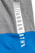 Sports shorts - Dark grey/Blue - Kids | H&M 3