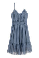 Mesh dress - Pigeon blue - Ladies | H&M IE 2