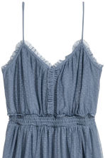 Mesh dress - Pigeon blue - Ladies | H&M IE 3