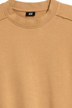 Short-sleeved sweatshirt - Camel - Men | H&M 3