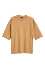 Short-sleeved sweatshirt - Camel - Men | H&M 2