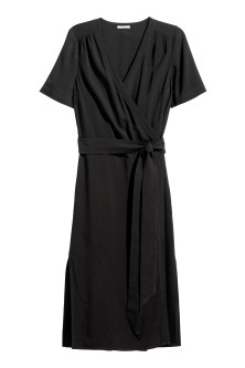 H&M+ Wrap-front Dress