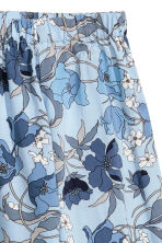 H&M+ Off-the-shoulder blouse - Light blue/Floral - Ladies | H&M 3