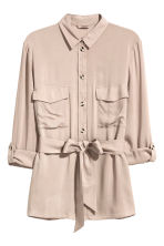 H&M+ 工作襯衫 - Light beige - Ladies | H&M 2