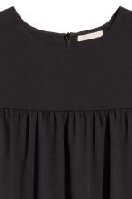 H&M+ Puff-sleeved dress - Black - Ladies | H&M CN 3