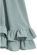 Short cotton skirt - Dusky green - Ladies | H&M 3
