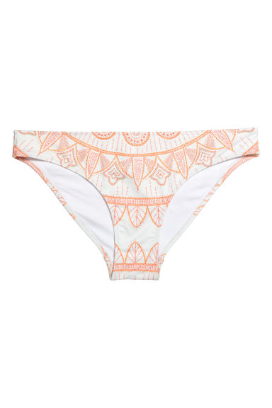 Bikini bottoms - White/Patterned -  | H&M CN 1