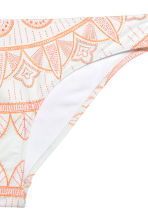 Bikini bottoms - White/Patterned -  | H&M CN 2