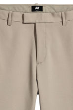 Nylon-blend trousers Slim fit - Beige - Men | H&M 4