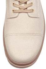 Canvas boots - Light beige - Men | H&M 3