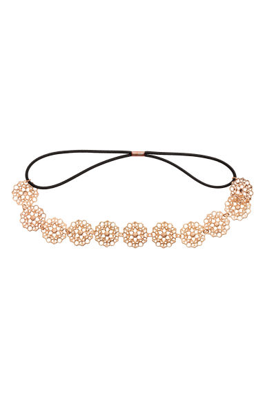 Hairband - Rose gold - Ladies | H&M 1