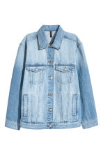 Denim jacket - Light denim blue - Ladies | H&M GB 2
