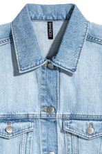 Denim jacket - Light denim blue - Ladies | H&M GB 3