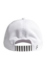 Mesh sports cap - White - Men | H&M CN 2