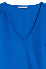 Trumpet-sleeved blouse - Cornflower blue - Ladies | H&M 3