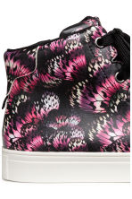 Hi-top trainers - Black/Butterfly - Kids | H&M 4