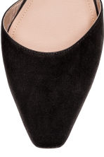 Square-toed flats - Black - Ladies | H&M CN 3