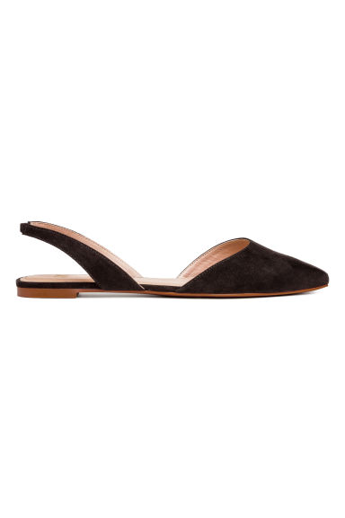Square-toed flats - Black - Ladies | H&M CN 1