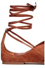 Suede sandals - Rust - Ladies | H&M 5