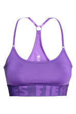 Sports bra Low support - Purple - Ladies | H&M CN 2