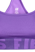 Sports bra Low support - Purple - Ladies | H&M CN 3