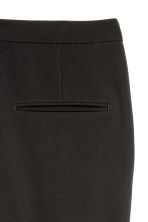 Flared suit trousers - Black - Ladies | H&M 2