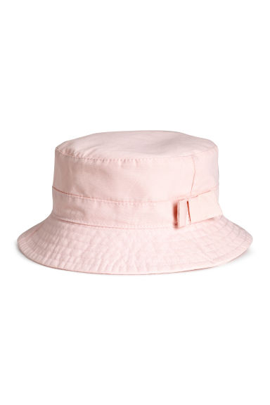 Fisherman's hat - Light pink -  | H&M CA 1