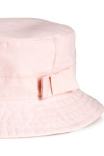 Fisherman's hat - Light pink -  | H&M CA 2