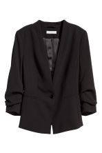 Single-button jacket - Black - Ladies | H&M CN 2