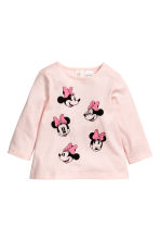 Maglie in jersey, 2 pz - Rosa/Minni -  | H&M IT 2