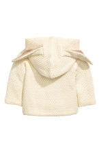Pattern-knit cardigan - Light beige - Kids | H&M 2