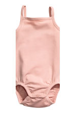 3-pack pima cotton bodysuits - Powder pink - Kids | H&M 3