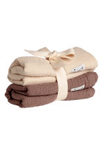 2-pack comfort blankets - Mole -  | H&M 1