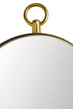 Oval mirror - Gold-coloured - Home All | H&M IE 2