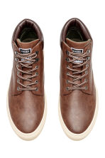 Hi-top trainers - Dark brown - Men | H&M 2