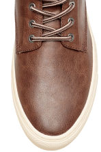 Hi-top trainers - Dark brown - Men | H&M 3