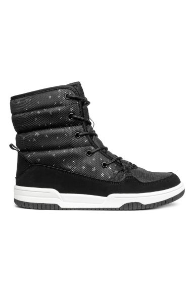 Waterproof boots - Black/Stars - Kids | H&M GB