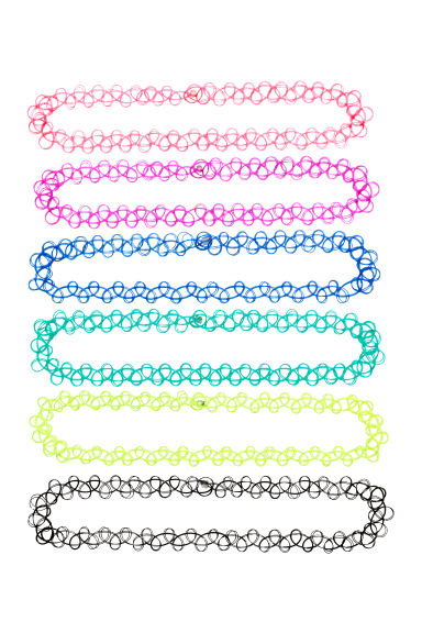 6-pack chokers - Multicoloured - Ladies | H&M CN 1