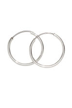 3 pairs of hoop earrings - Silver - Ladies | H&M CA 2