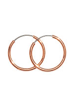 3 pairs of hoop earrings - Rose gold - Ladies | H&M 2