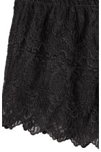 Lace shorts - Black - Ladies | H&M CN 3