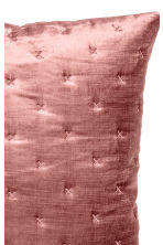Housse de coussin en velours - Rose - Home All | H&M FR 2
