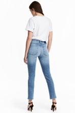 Slim High Ankle Jeans - Licht denimblauw - DAMES | H&M NL 4