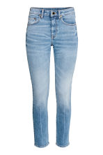 Slim High Ankle Jeans - Light denim blue - Ladies | H&M CA 2