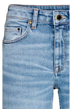 Slim High Ankle Jeans - Light denim blue - Ladies | H&M CA 6