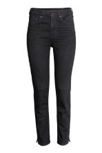 Slim High Ankle Jeans - Black denim - Ladies | H&M 2