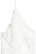 Lace top - White - Ladies | H&M 3