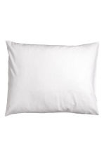 Cotton pillowcase - White - Home All | H&M CN 1